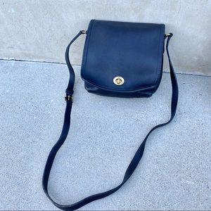 Vintage Coach Companion Leather Handbag crossbody